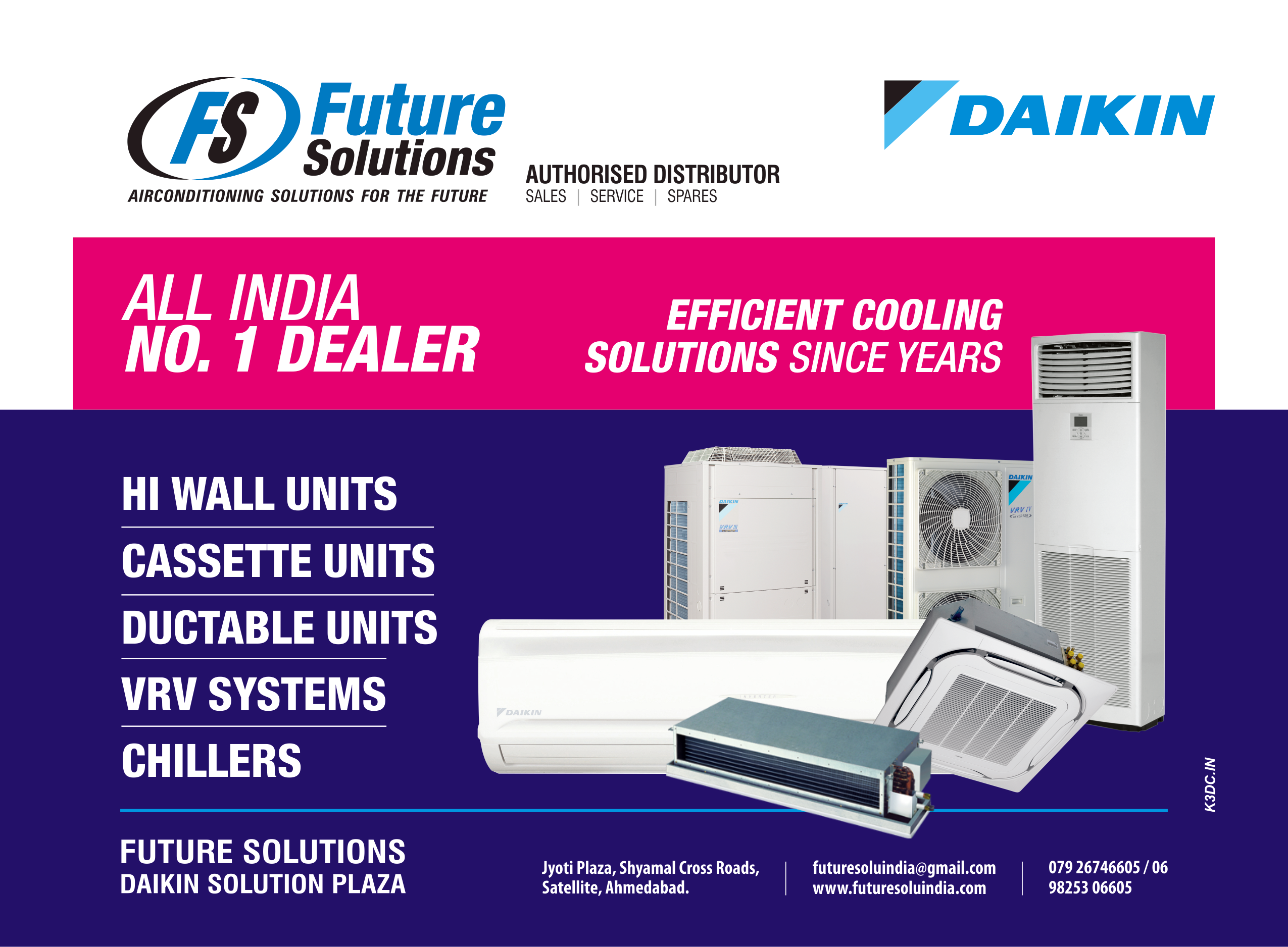 future solutions - daikin ac | ac dealers | chiller plant in